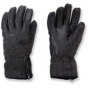 REI Leather Sweater Gloves