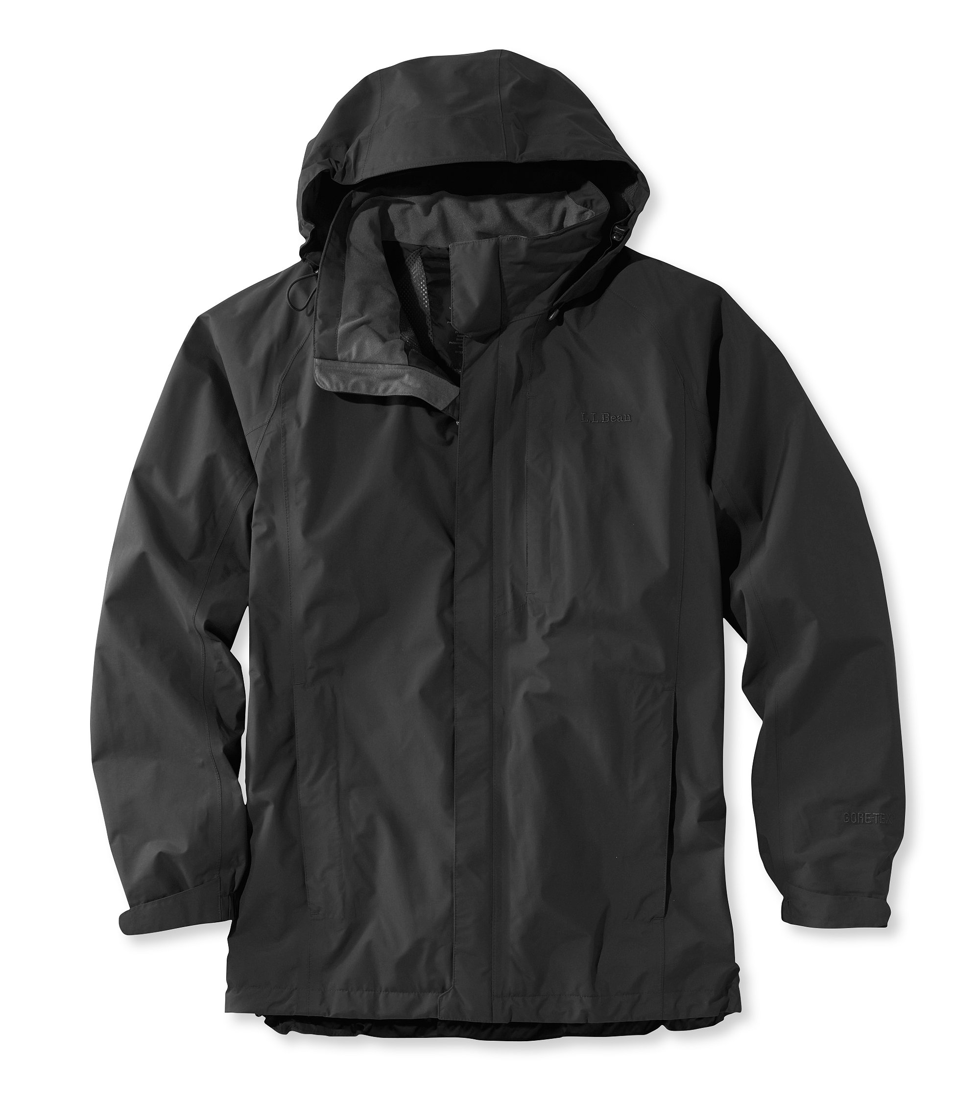 photo: L.L.Bean Stowaway Jacket With Gore-Tex waterproof jacket