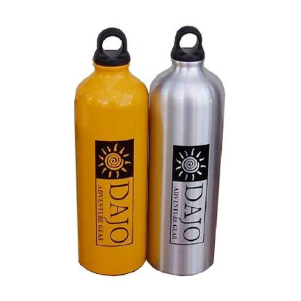 photo of a Dajo water bottle