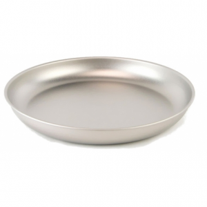 photo: Snow Peak Titanium Plate plate/bowl