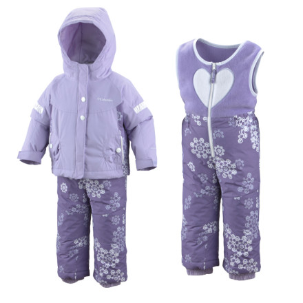 photo: Columbia Girls' Ella Graceful Set kids' snowsuit/bunting