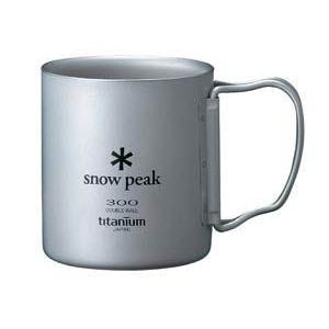 photo: Snow Peak Titanium Double 300 Mug FH cup/mug