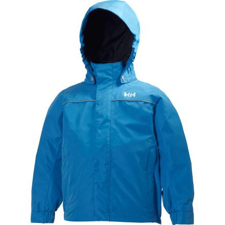 photo: Helly Hansen Kids' Dublin Jacket waterproof jacket