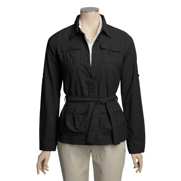 photo: Royal Robbins Boulevard Shirt Jacket hiking shirt