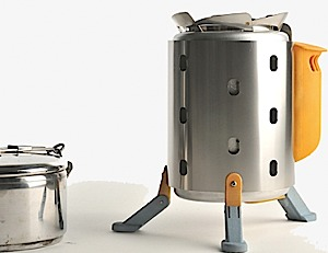 photo: BioLite CampStove wood stove