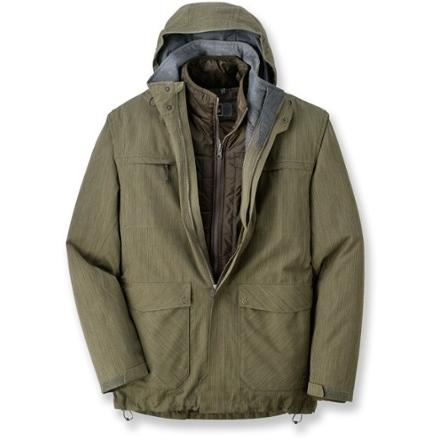 photo: REI Triad Parka component (3-in-1) jacket