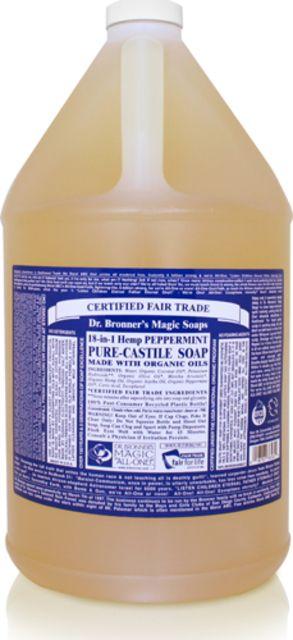photo: Dr. Bronner Peppermint Liquid Soap soap/cleanser