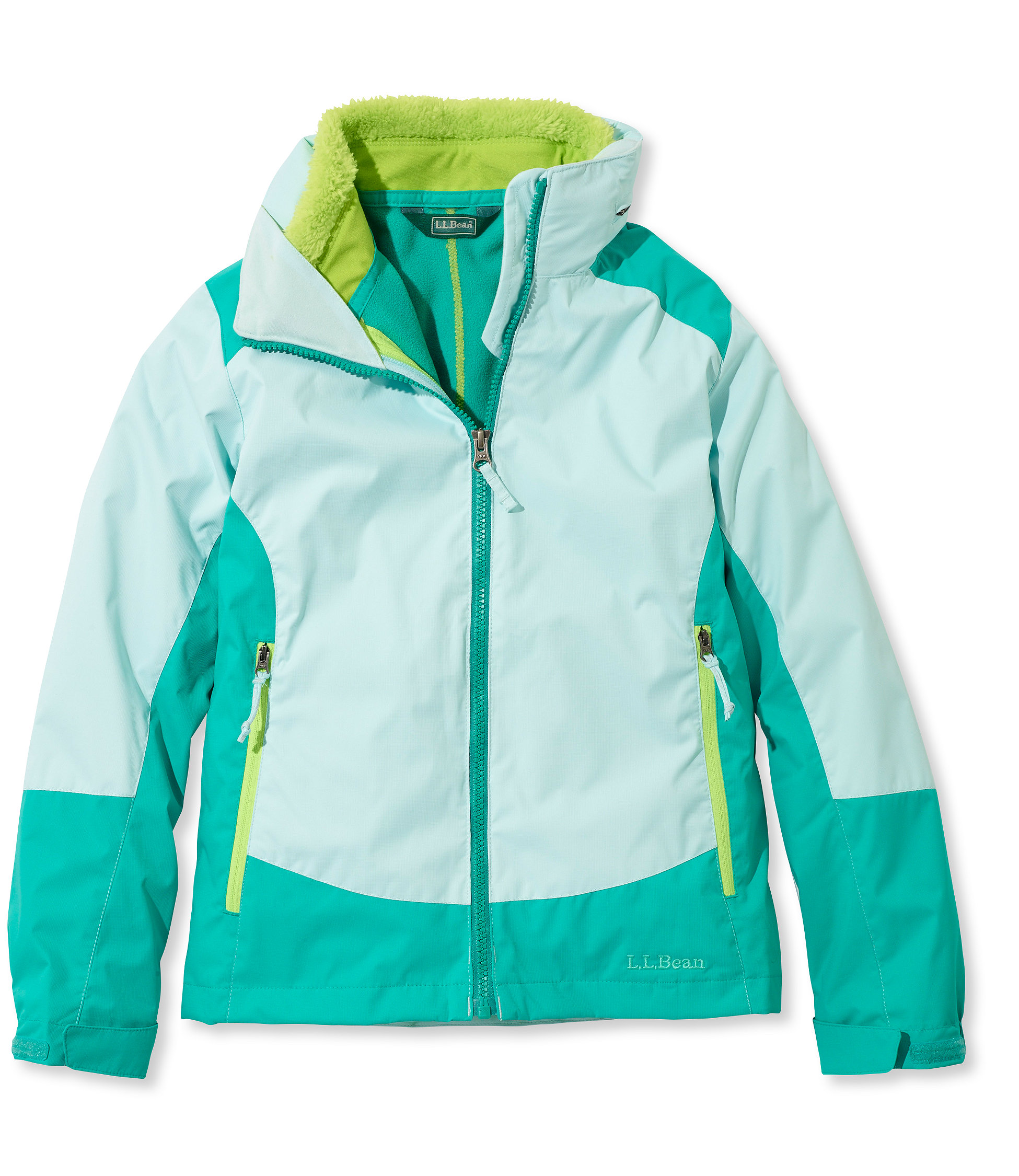 photo: L.L.Bean Girls' Wildcat 3-in-1 Parka component (3-in-1) jacket