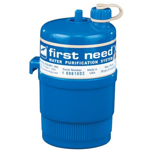 photo of a First Need pump/gravity water filter