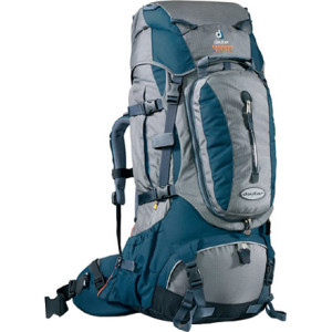 photo: Deuter Paragon 60+15 SL weekend pack (3,000 - 4,499 cu in)