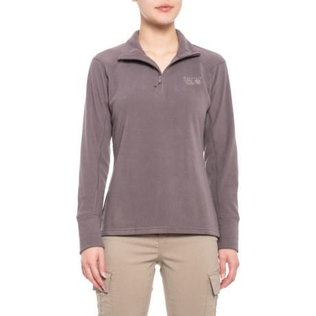 photo: Mountain Hardwear Women's Microchill 2.0 Zip T fleece top