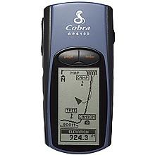 photo: Cobra GPS 100 handheld gps receiver