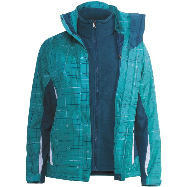 photo: Columbia Silver Thaw Jacket component (3-in-1) jacket