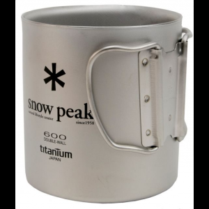 Snow Peak Titanium Single Wall 600 Cup