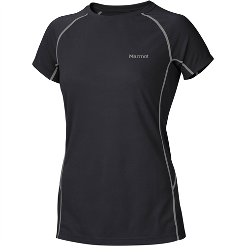 photo: Marmot Women's ThermalClime Sport SS Crew short sleeve performance top