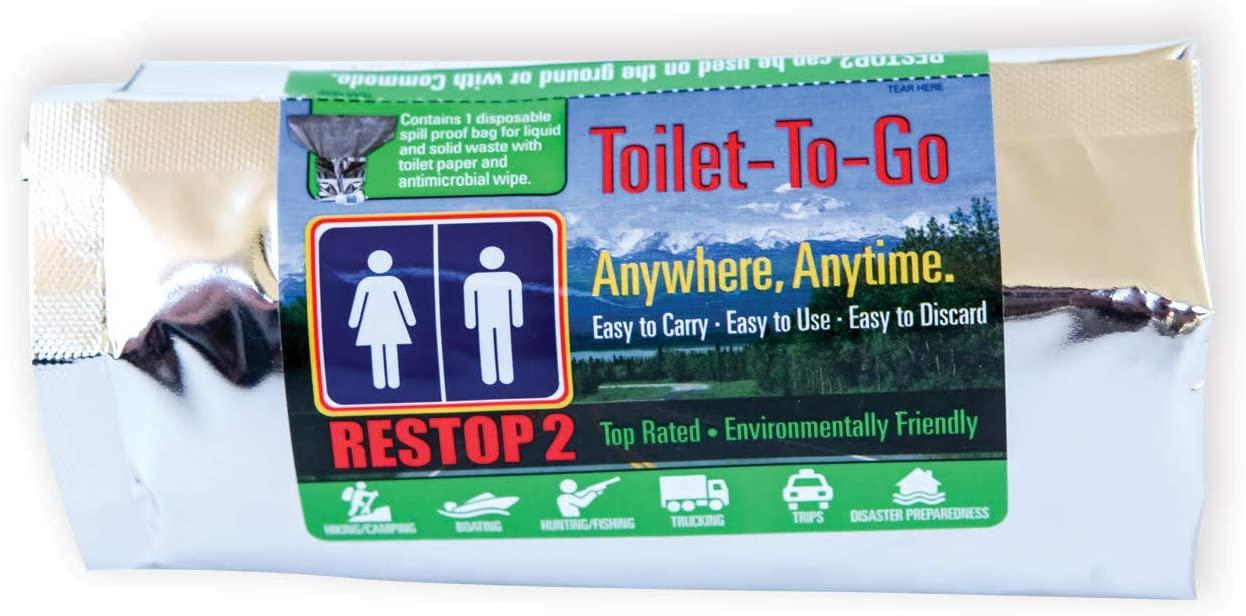 Restop 2: Disposable Solid & Liquid Waste Bags