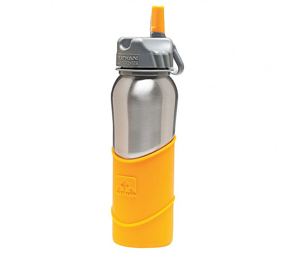 Nathan Stainless Steel 700 ML Bottle Silicon Sleeve