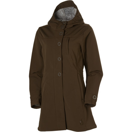 photo: Isis Queen City Coat soft shell jacket