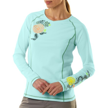photo: REI Aruba Long-Sleeve Water T-Shirt long sleeve paddling shirt