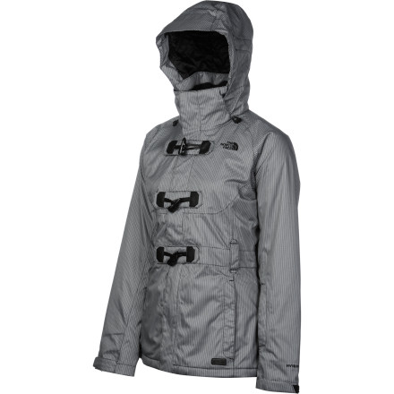 photo: The North Face Ginger Delux Insulated Jacket snowsport jacket