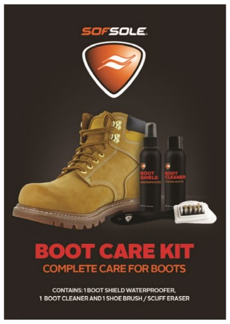 photo: Sof Sole Boot Care Kit footwear cleaner/treatment