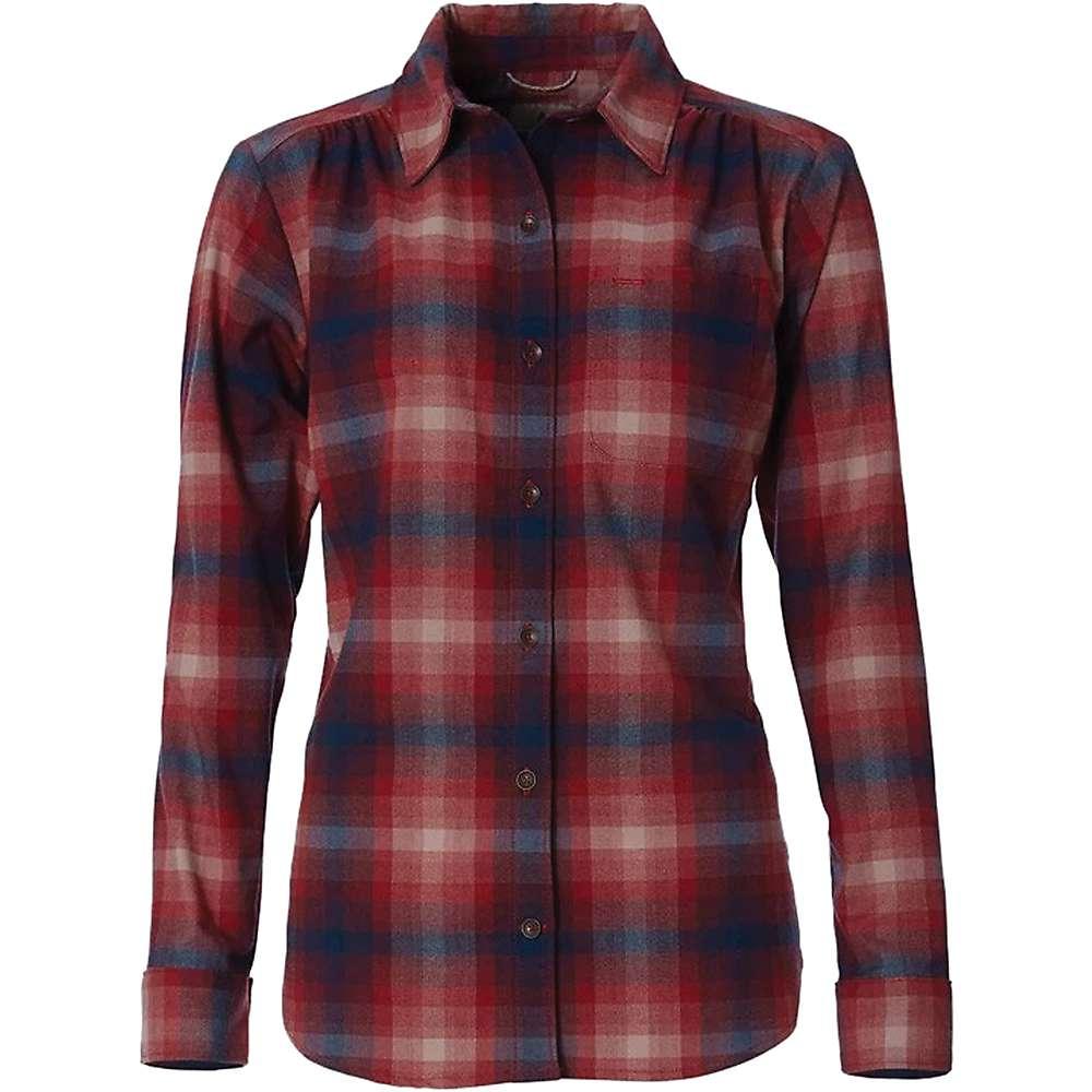 photo: Royal Robbins Women's Merinolux Flannel Long Sleeve Shirt hiking shirt