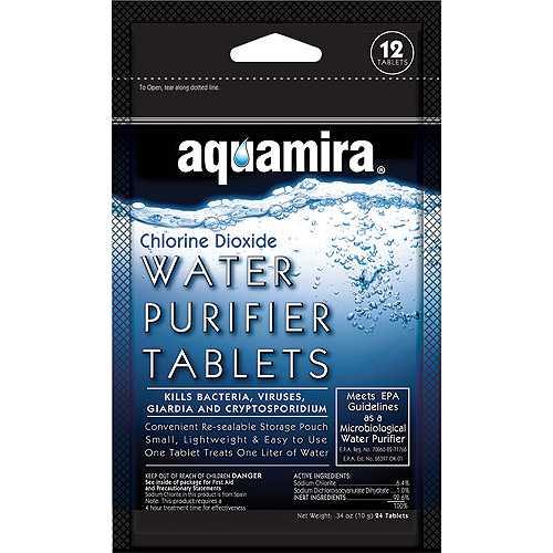 Aquamira Water Purifier Tablets