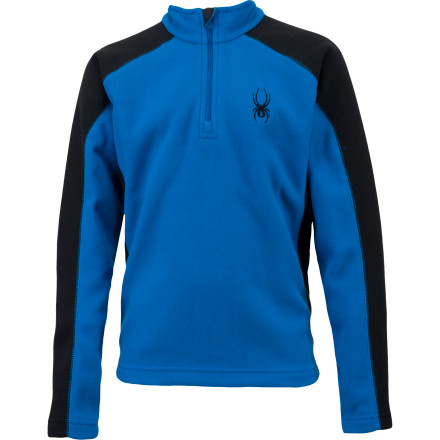 photo: Spyder Boys' Speed Fleece T-Neck fleece top