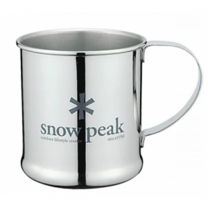 Snow Peak Single Wall Stainless Steel Cup