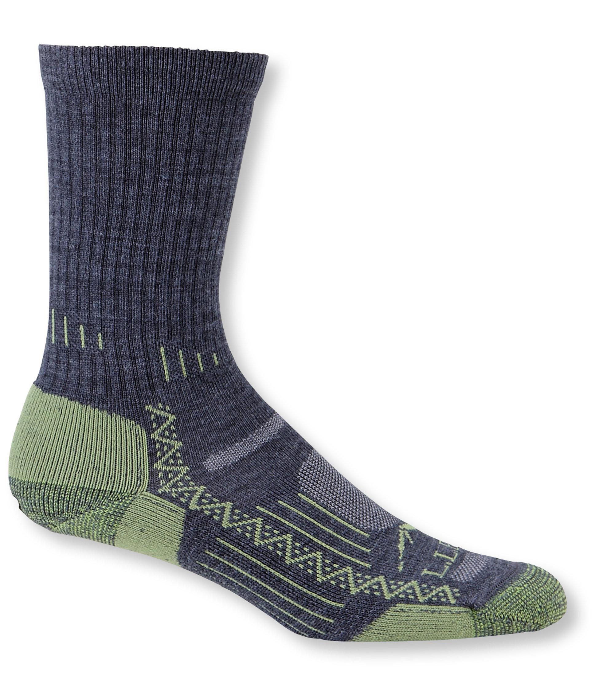 L.L.Bean Ascent Hiking Sock, Lightweight Crew