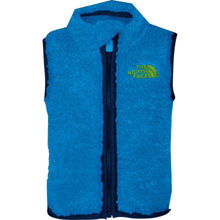 photo: The North Face Boys' Plushee Vest fleece vest