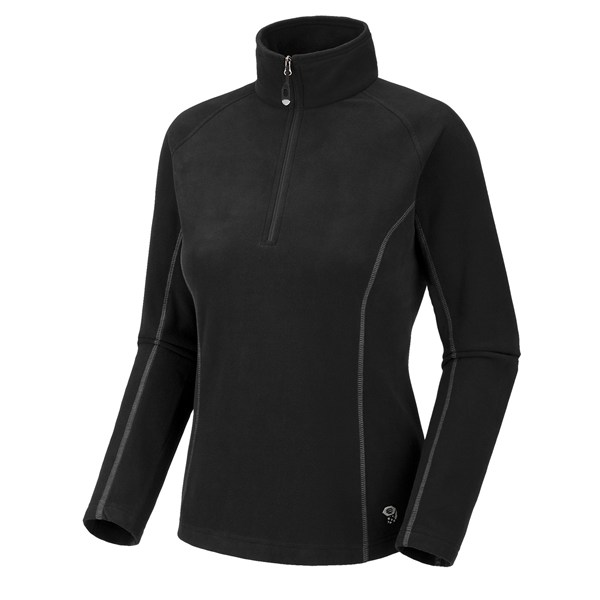 photo: Mountain Hardwear Women's MicroChill Zip T fleece top