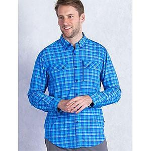 photo: ExOfficio Sol Cool Cryogen Plaid Long-Sleeve Shirt hiking shirt