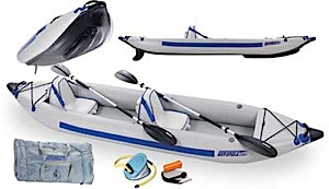 photo: Sea Eagle Fast Track 385ft Deluxe Package inflatable kayak