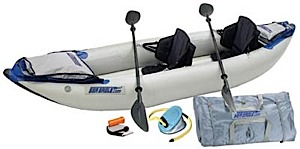 photo: Sea Eagle Explorer 340x Pro Package inflatable kayak