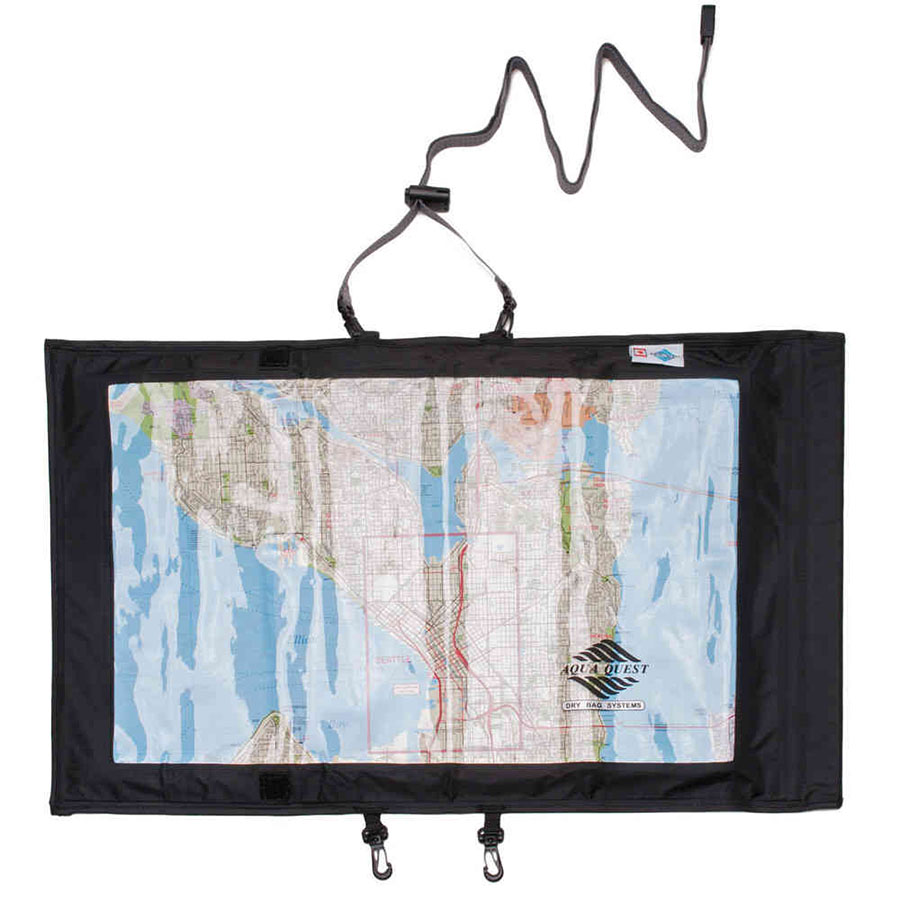 Aqua Quest Trail Map Case