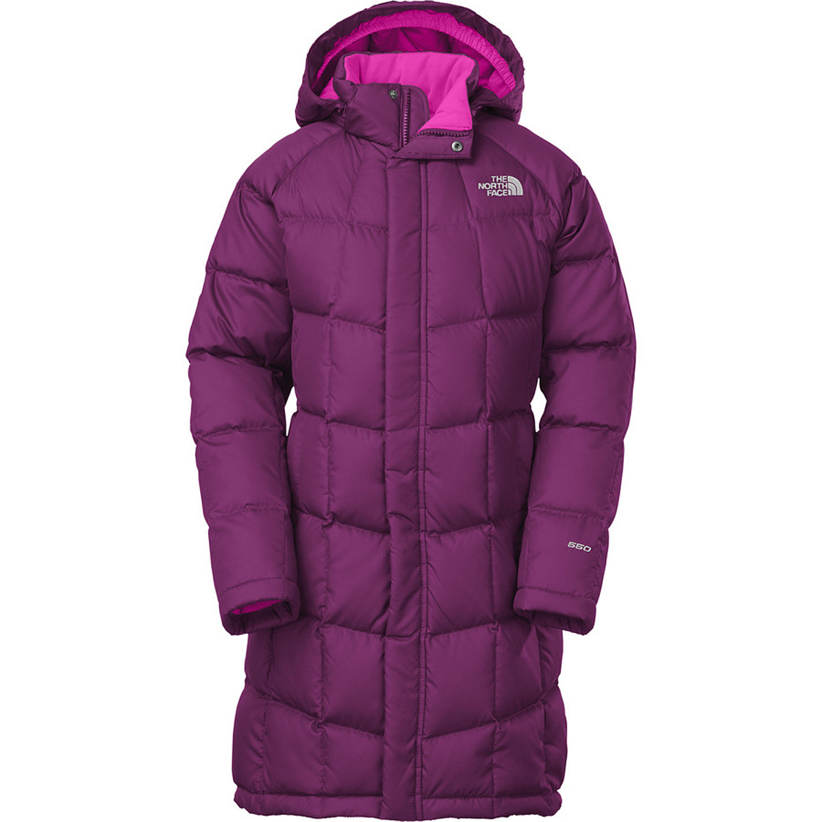 photo: The North Face Girls' Metropolis Parka down insulated jacket