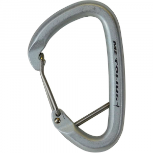 photo: Metolius Steel Gym non-locking carabiner