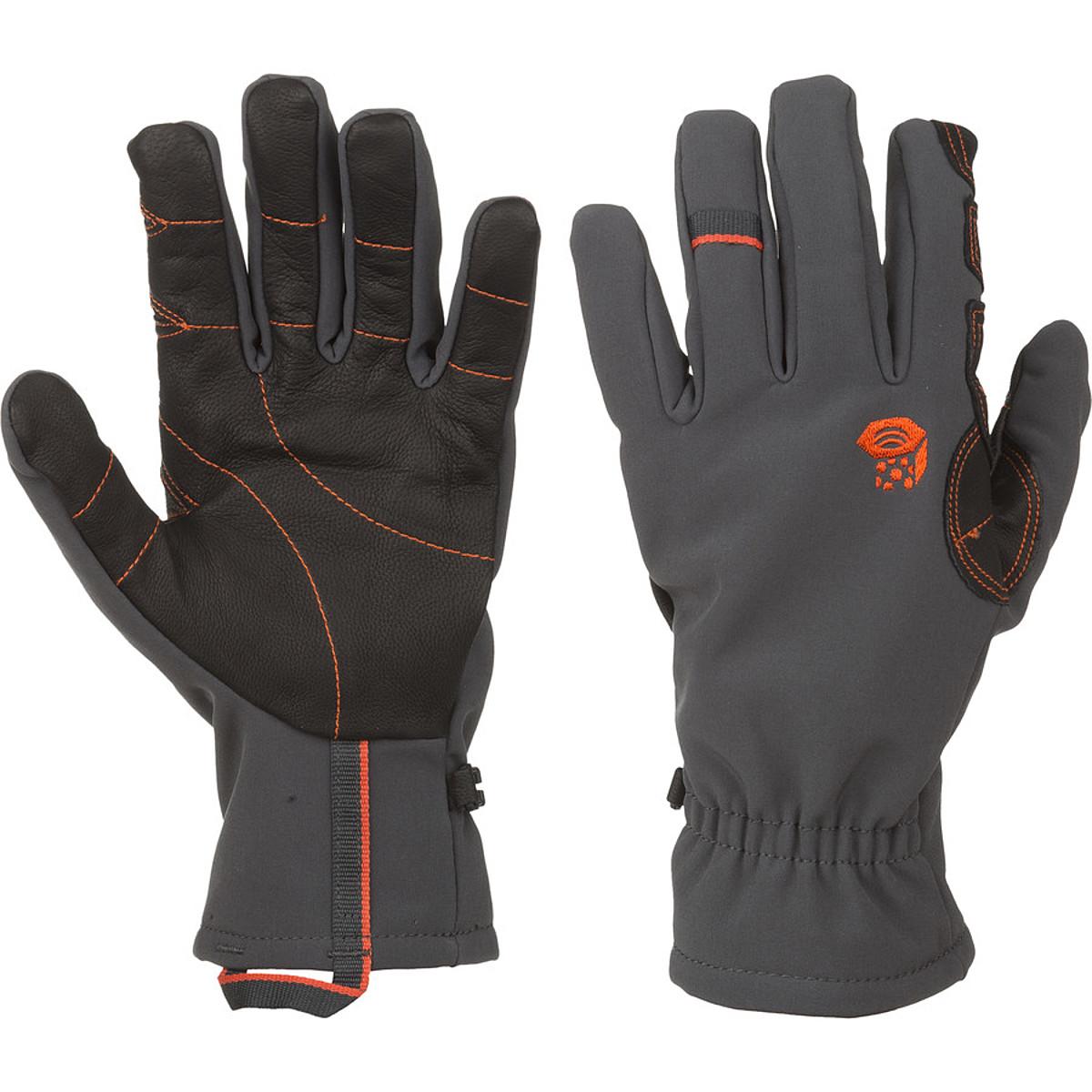 photo: Mountain Hardwear Men's Torsion Glove soft shell glove/mitten