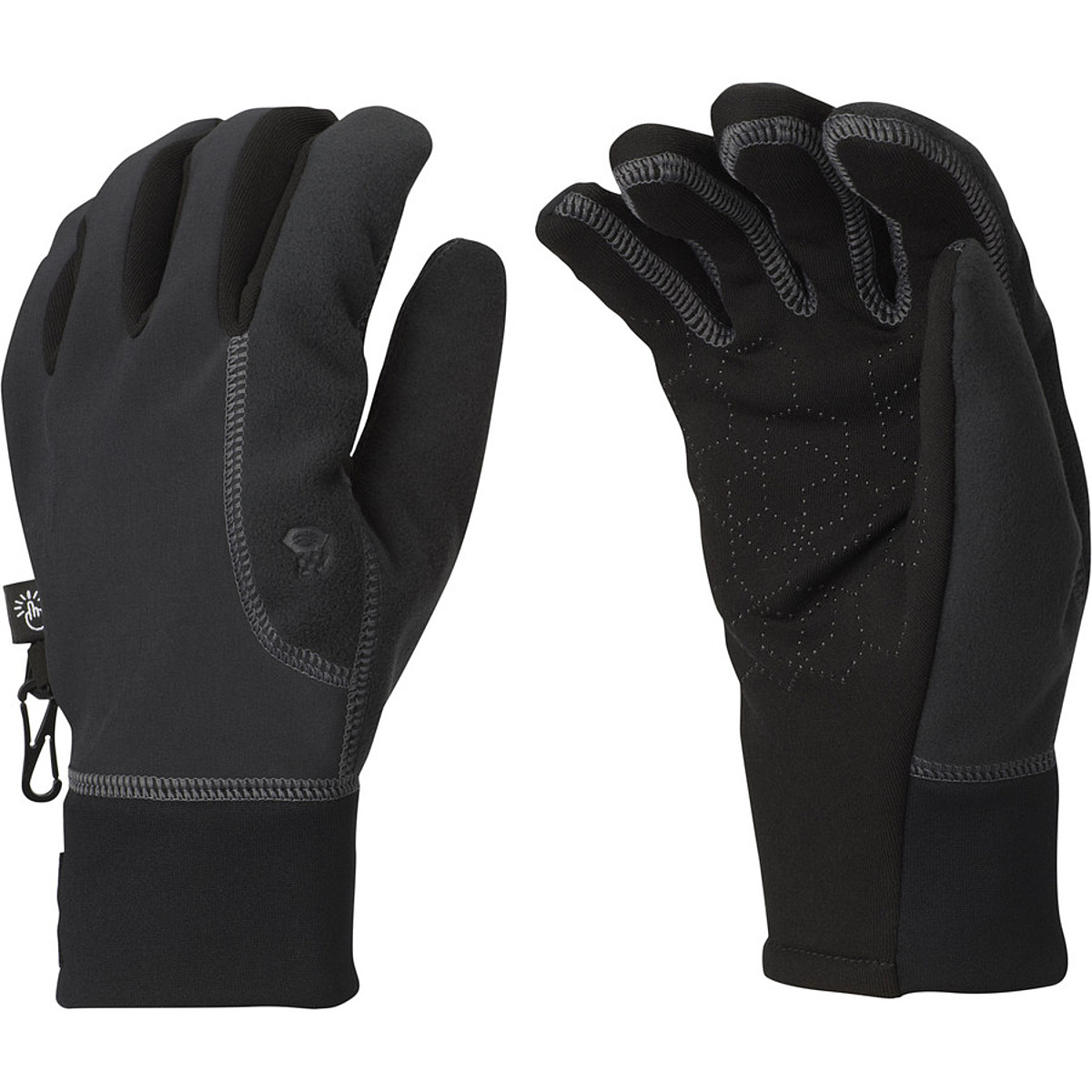 photo: Mountain Hardwear Winter Running Glove soft shell glove/mitten