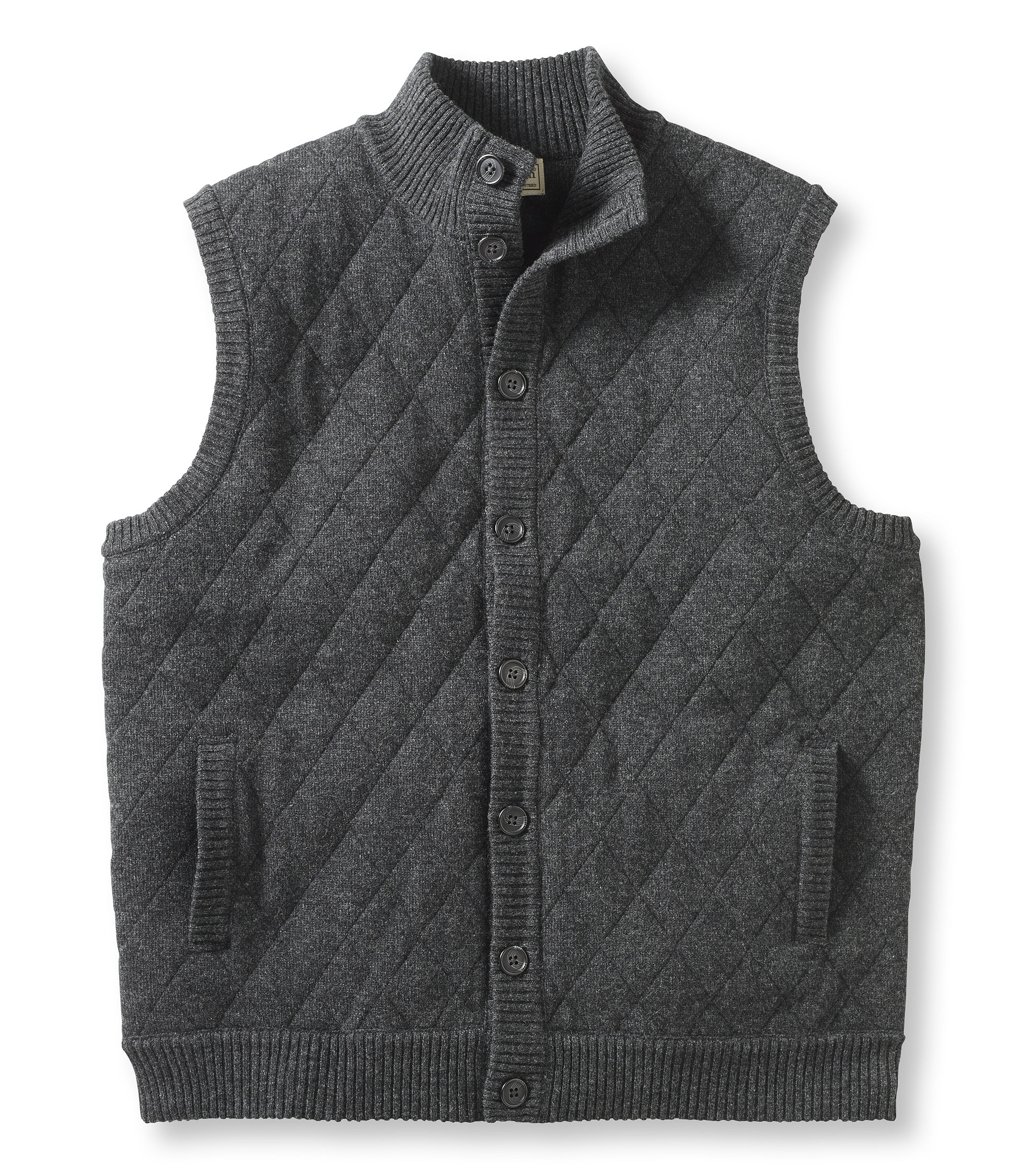 L.L.Bean Lambswool Sweater, Quilted Vest