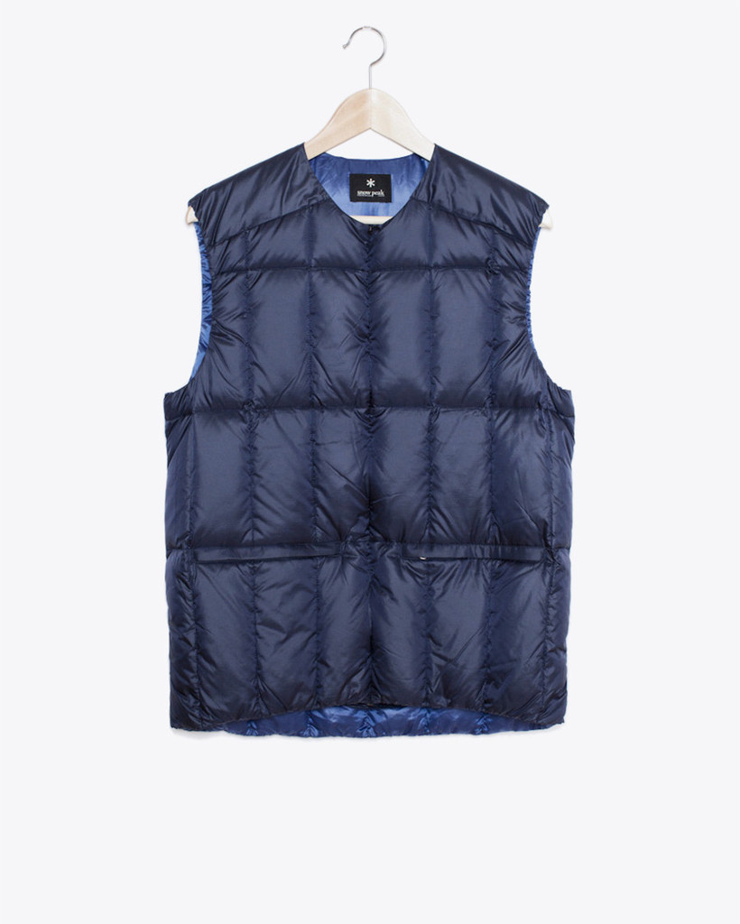 Snow Peak Middler Down Vest