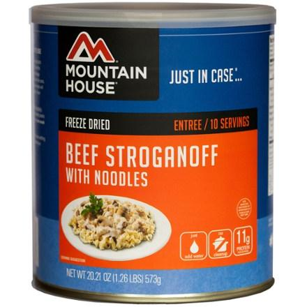 photo: Mountain House Beef Stroganoff with Noodles meat entrée