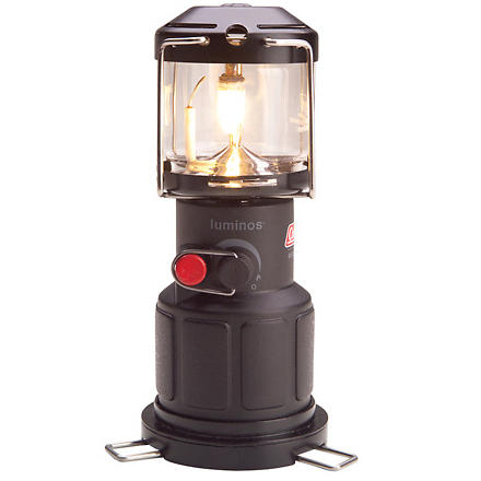photo: Coleman Luminos Lantern fuel-burning lantern