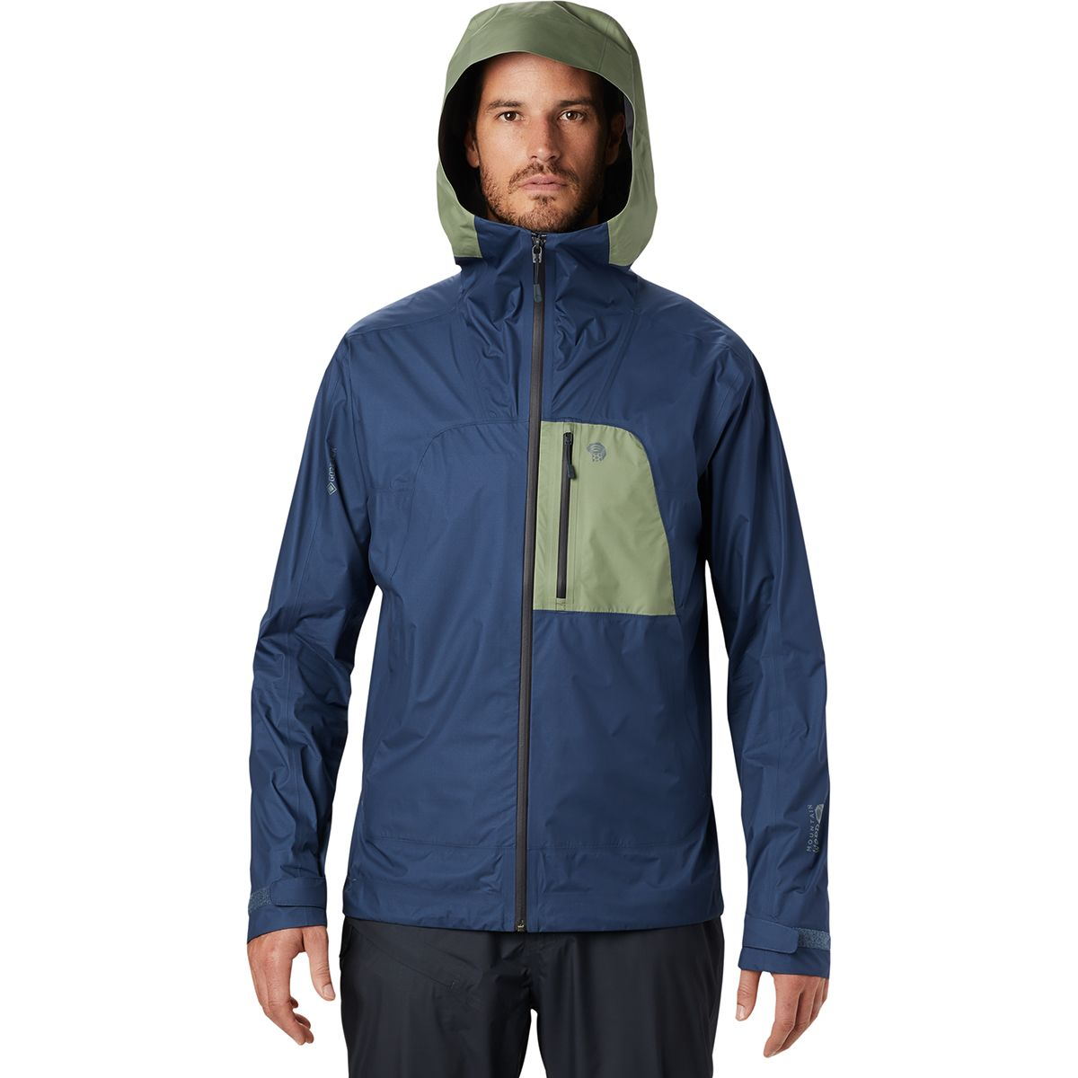 photo: Mountain Hardwear Men's Exposure/2 Gore-Tex Paclite Plus Jacket waterproof jacket