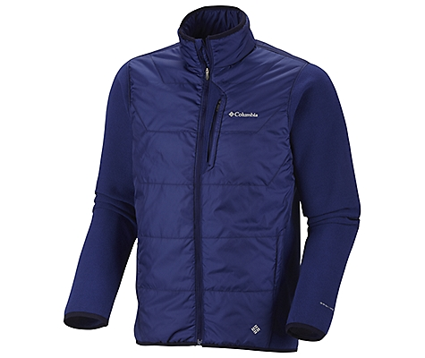 photo: Columbia Men's Climate High Full Zip synthetic insulated jacket