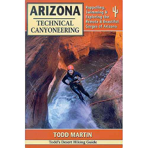 photo of a Todd's Desert Hiking Guide us mountain states guidebook