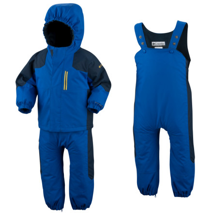 photo: Columbia Kids' Little Lumberjack Set kids' snowsuit/bunting