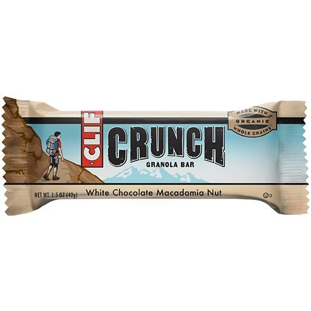 photo: Clif White Chocolate Macadamia Nut Crunch Bar nutrition bar