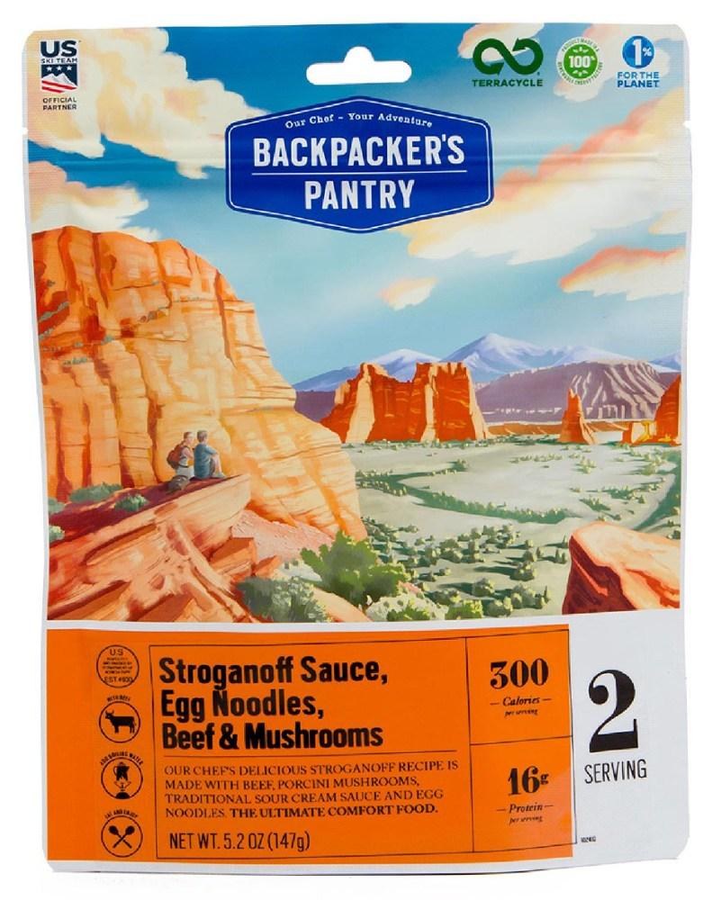 Backpacker's Pantry Beef Stroganoff with Wild Mushrooms